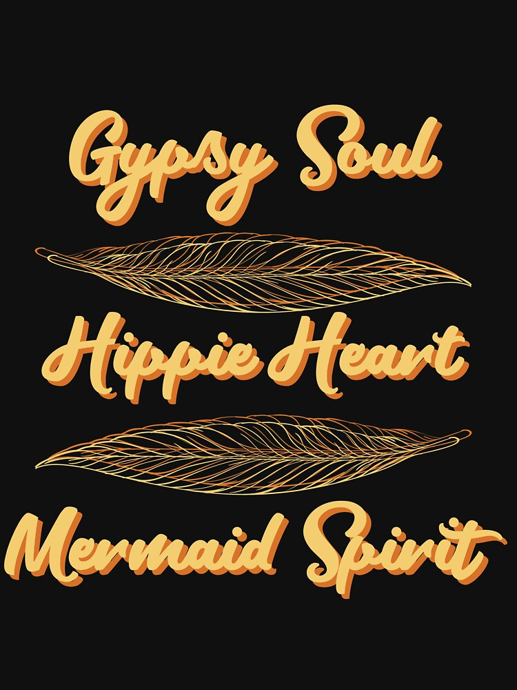 Gypsy Soul Heart Adventure Travel Tshirt Gypsy soul hippie heart by Customdesign200
