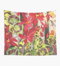 Red Pelargoniums in Alameda Tapestry