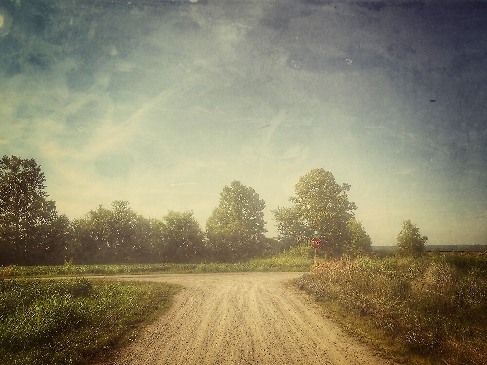 Gravel Road by Robert Baker