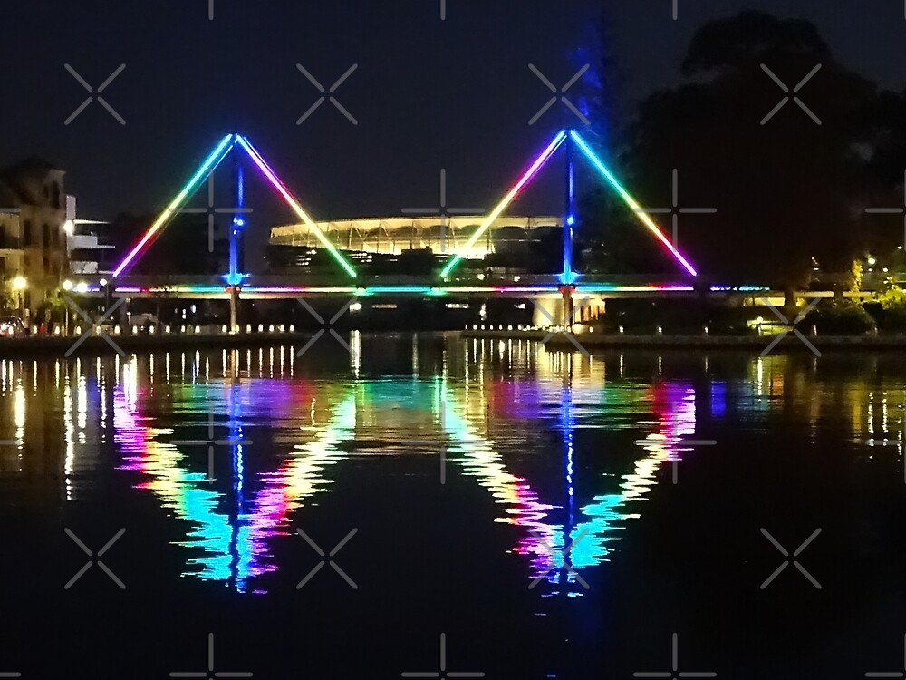Rainbow Bridge - Claisebrook Cove East Perth by Lunaqwa