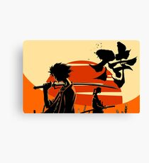 Sunset Samurai Canvas Print