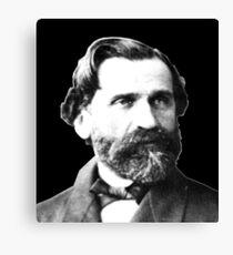 Giuseppe Verdi - Great Italian Opera Composer Canvas Print
