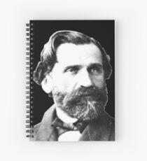 Giuseppe Verdi - Great Italian Opera Composer Spiral Notebook