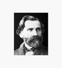 Giuseppe Verdi - Great Italian Opera Composer Art Board