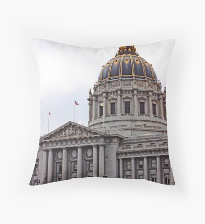 San Francisco Opera House Throw Pillow