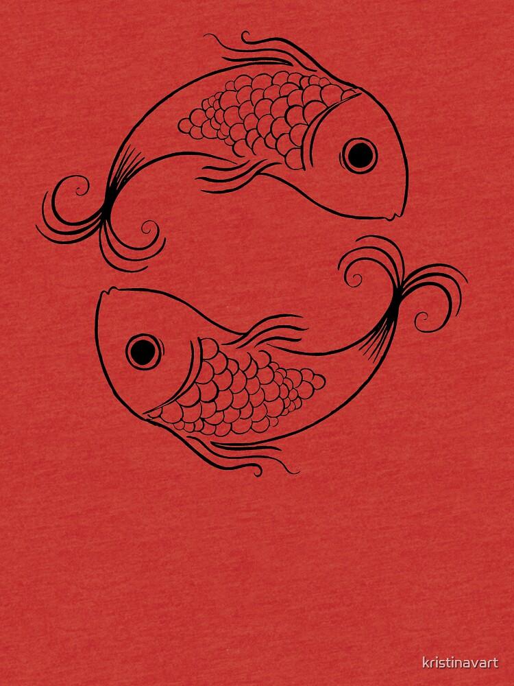 Pisces Zodiac Sign by kristinavart