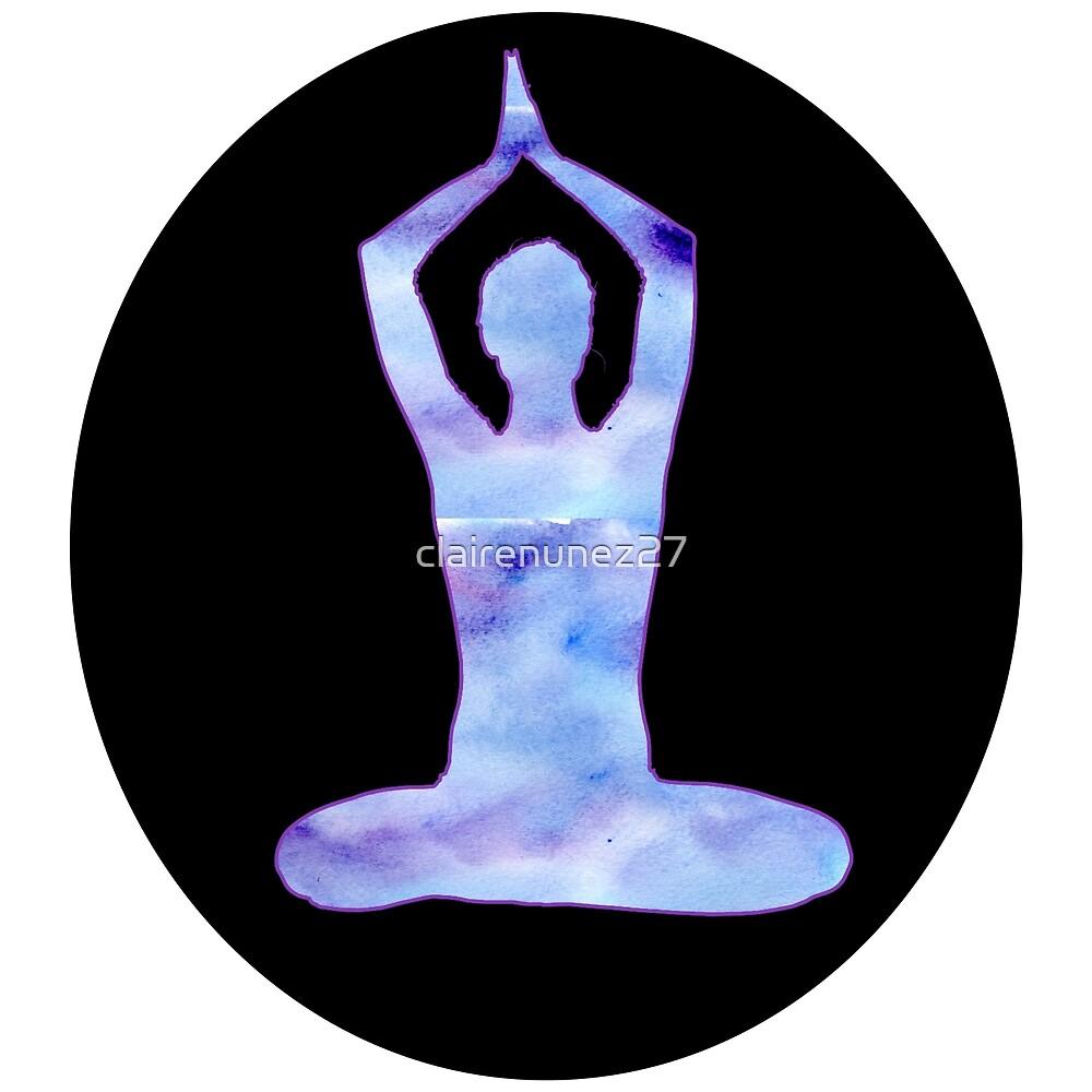 yoga circle by clairenunez27
