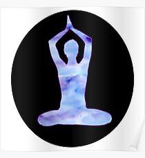 yoga circle Poster