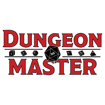 Dungeon Master Sticker by JPDesignsStuff