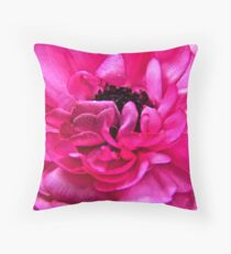 Unfolding Pedals Throw Pillow