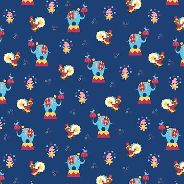 Circus Pattern by AllyArtDesigns