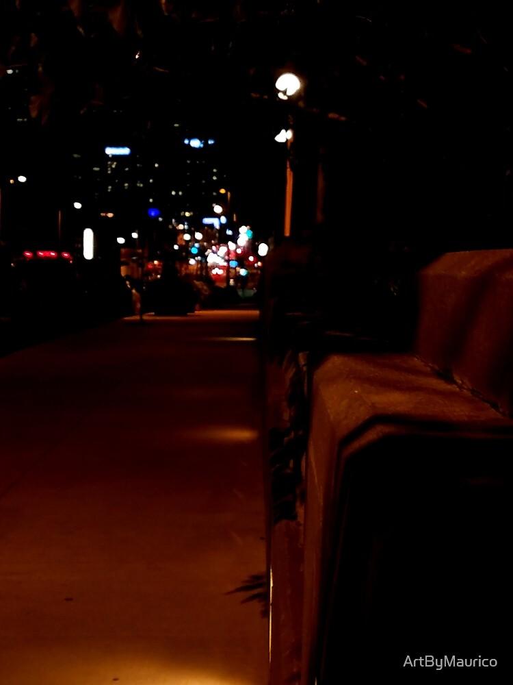 Night vibe by ArtByMaurico