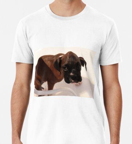 Es ist Badezeit - Boxer Dog Series Premium T-Shirt