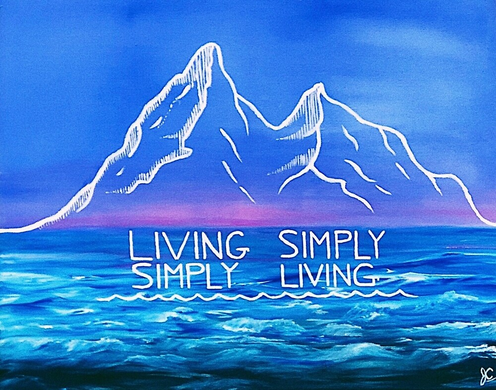 Simply Living, Living Simply by Jocelyn  Chassie