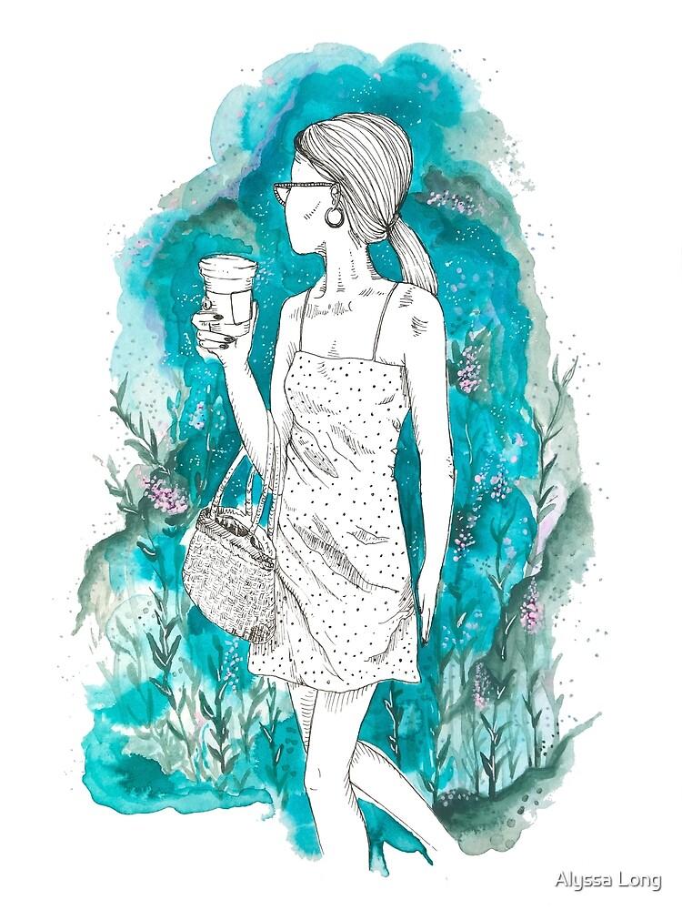 watercolor woman no. 1 by Alyssa Long