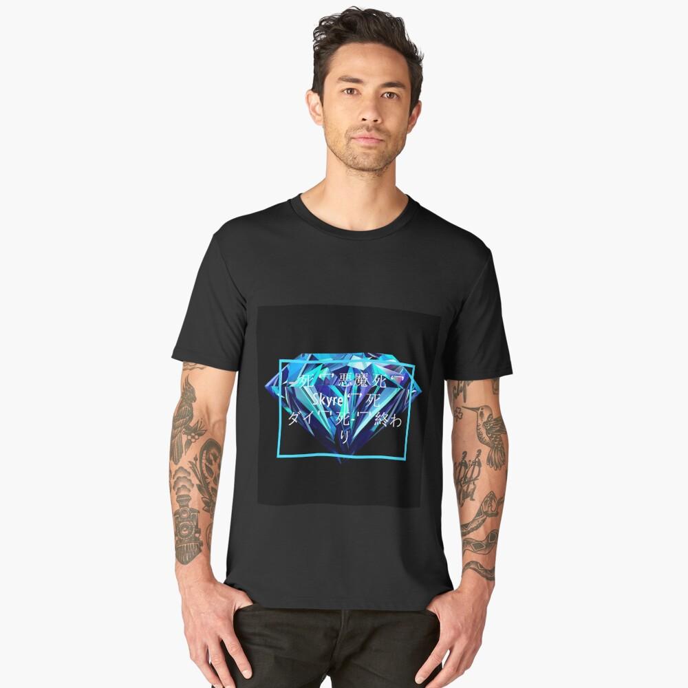 Skyre Shines Diamond Men's Premium T-Shirt Front