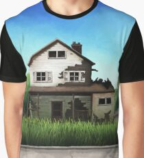 Abandoned House Graphic T-Shirt