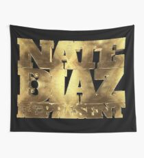 Nate Diaz 209 Represent GOLD Wall Tapestry