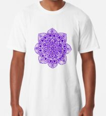 Blue Mural Mandala - Art&Deco By Natasha Long T-Shirt