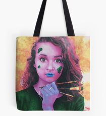 Idealist - Exaggerated Color Portrait Tote Bag