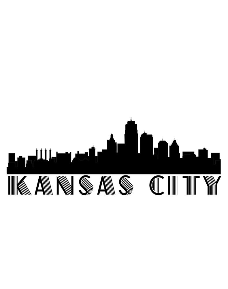Kansas City Skyline by reesebailey
