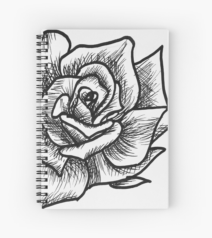 B&W Rose by sdgoo