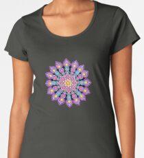 Purple Dot Mandala - Art&Deco By Natasha Women's Premium T-Shirt