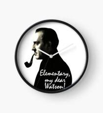 Elementary, my dear Watson! Clock