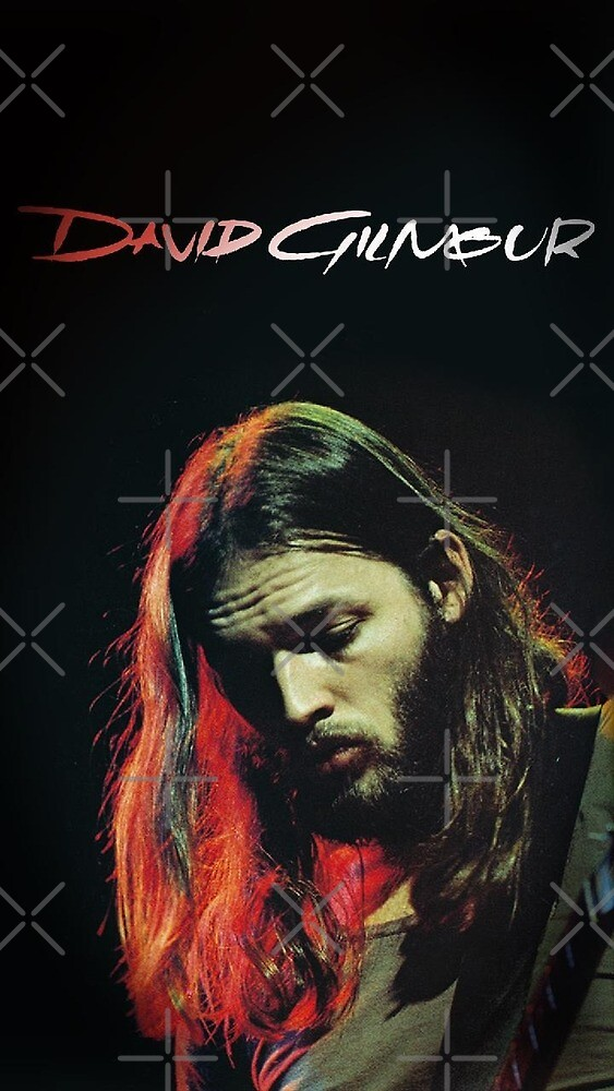 David Gilmour Pink Floyd Guitar Legend by Randy Ekstrom