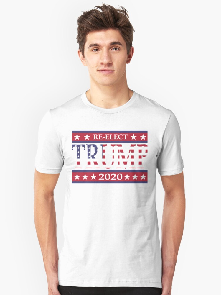 TRUMP Re-Elect 2020 Pro GOP MAKE LIBERALS CRY AGAIN Unisex T-Shirt Front