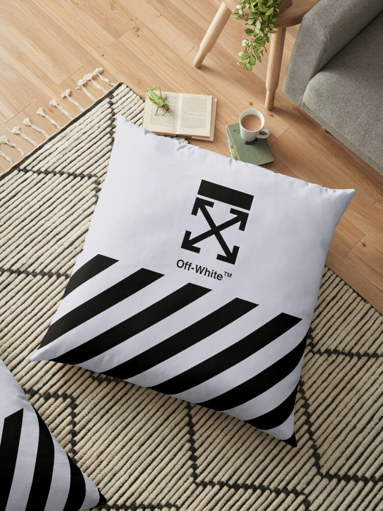 Off White Cover Full Black Stripe by JuliaCarters