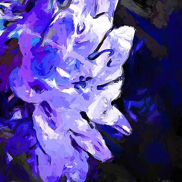Flower Lavender Lilac Blue by JackievanO