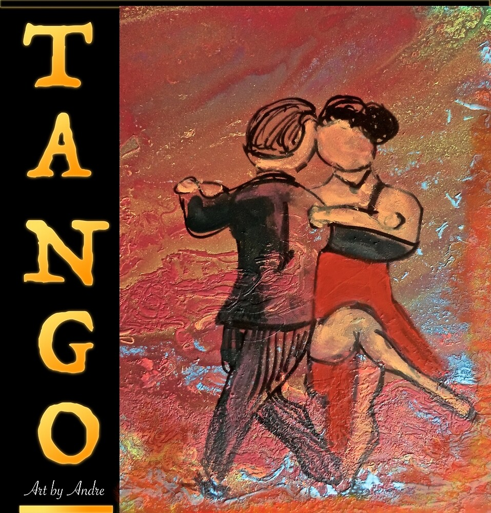 Tango T-Shirt 033 by Andre Beaulne