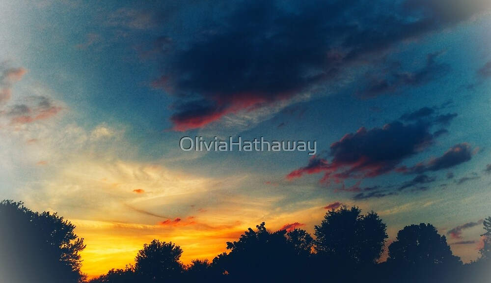 Muted Sunset by OliviaHathaway