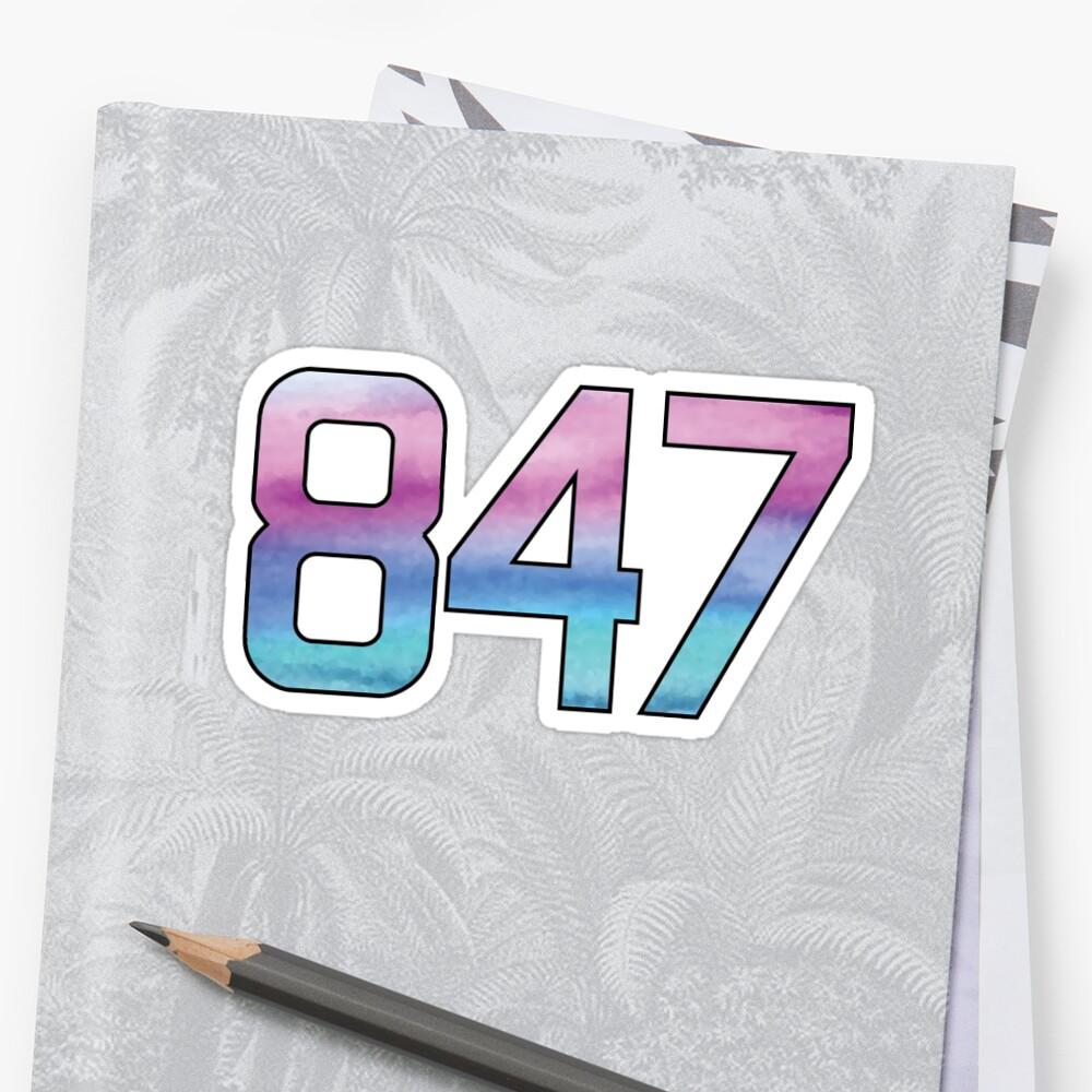 847 Sticker by lindsaytravel