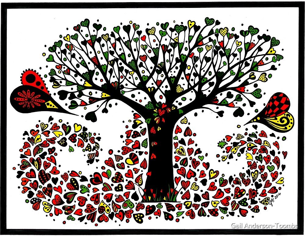 tree of love by Gail Anderson-Toombs