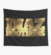 Diaz Brothers 209 Gold UFC Wall Tapestry