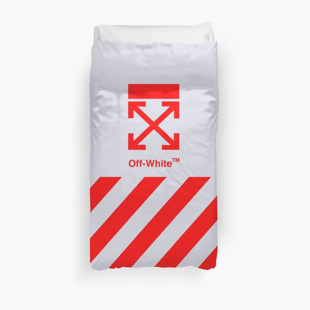 Off White Cover Full Red Stripe by KennethHale