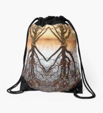 Homeless swamp Drawstring Bag