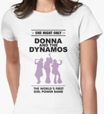 donna and the dynamos! Women's Fitted T-Shirt
