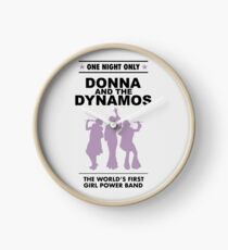 donna and the dynamos! Clock