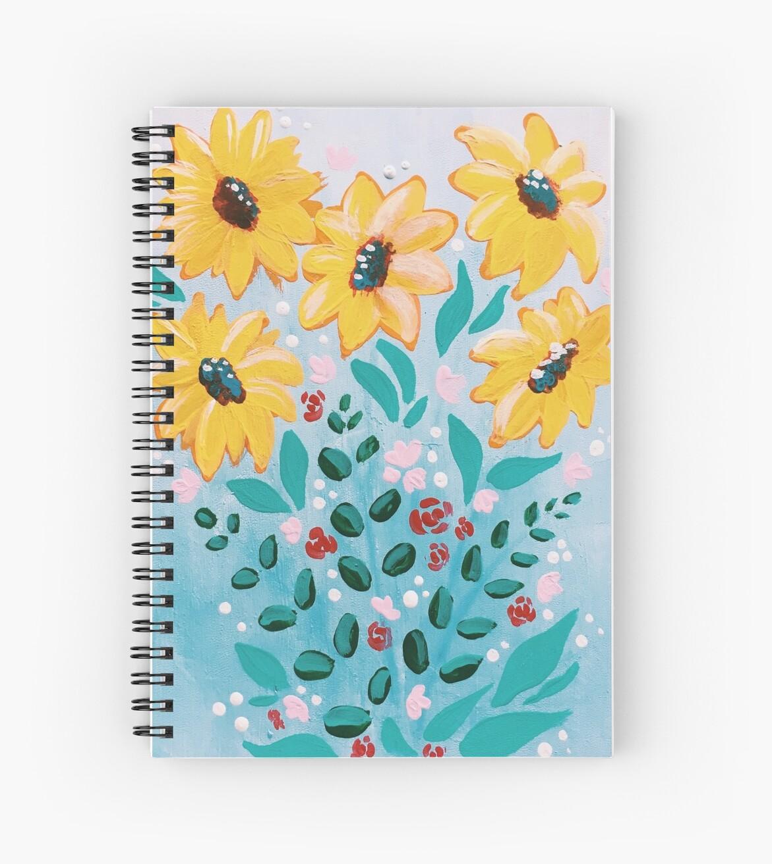 summertime bouquet by scribblesbymadi