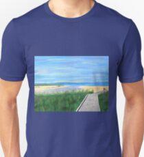 LONG WALKWAY Unisex T-Shirt