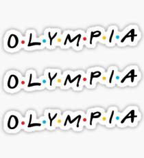 Olympia Sticker