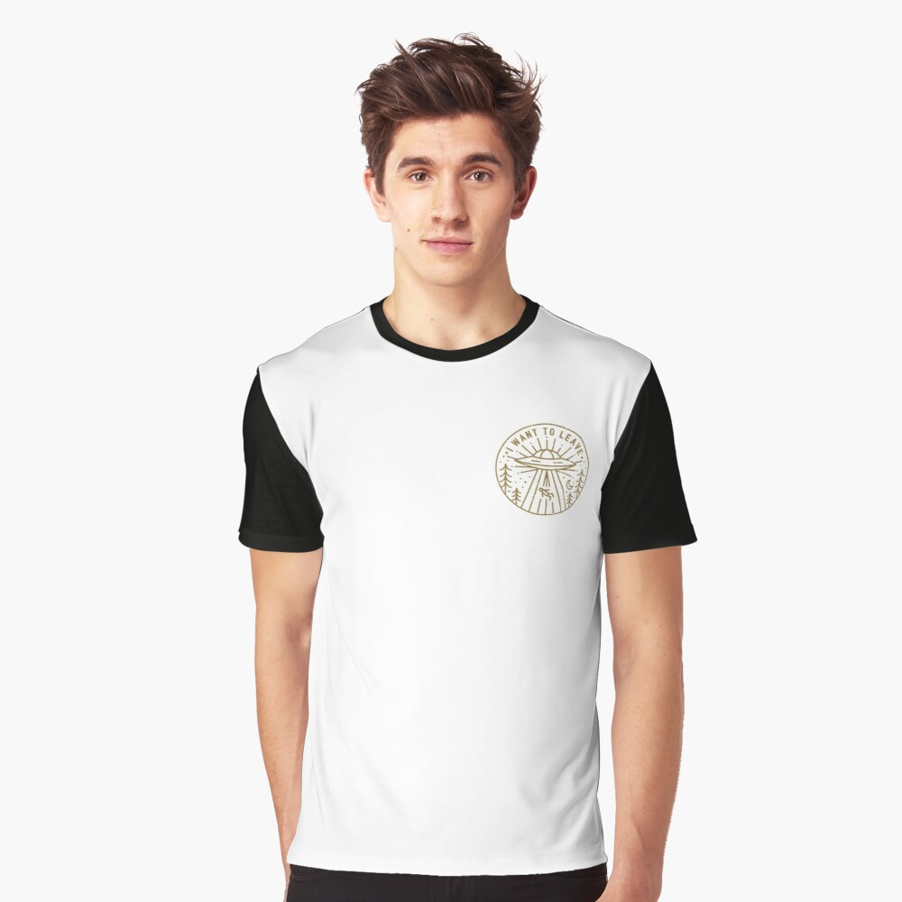 I Want To Leave - Pocket Graphic T-Shirt