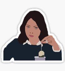 April Ludgate Tea Sticker