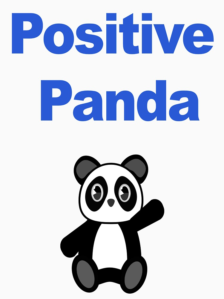 Positive Panda for Support by yuforia