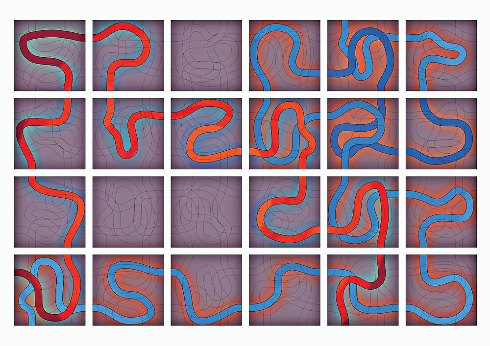 Tiled Maze by BANTAM-ARTS