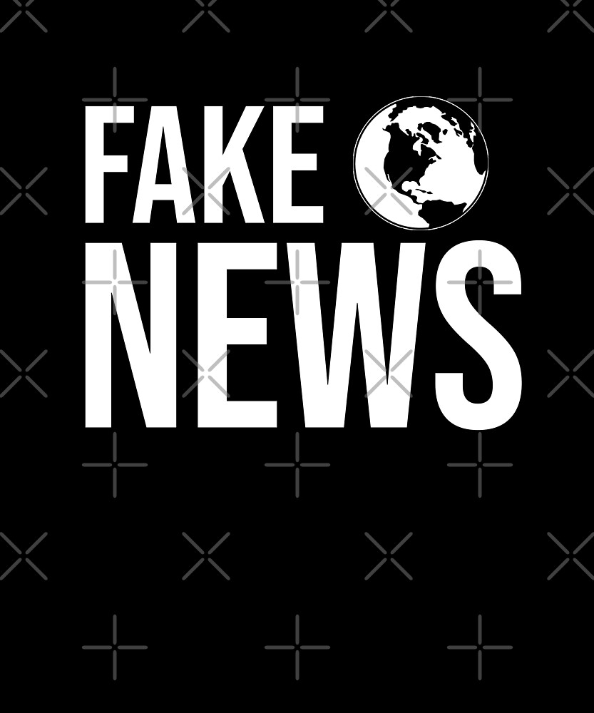 Fake News Shirt by Kimcf