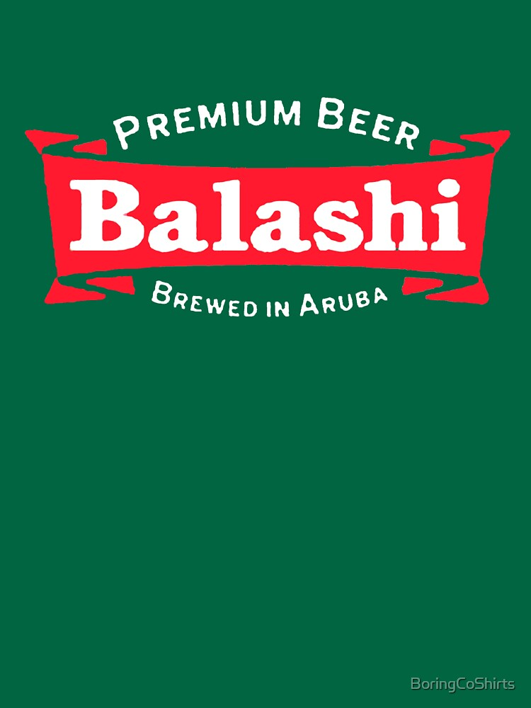 Balashi Premium Beer T-Shirt by BoringCoShirts